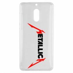 Чехол для Nokia 6 Металлика - FatLine