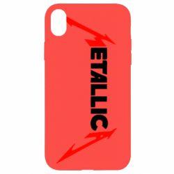 Чехол для iPhone XR Металлика