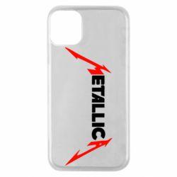 Чехол для iPhone 11 Pro Металлика
