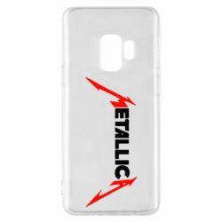 Чехол для Samsung S9 Металлика
