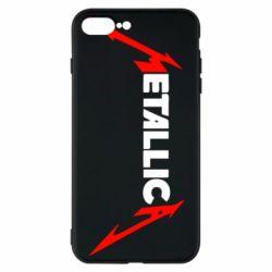 Чехол для iPhone 7 Plus Металлика