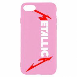 Чехол для iPhone 8 Металлика