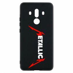 Чехол для Huawei Mate 10 Pro Металлика - FatLine