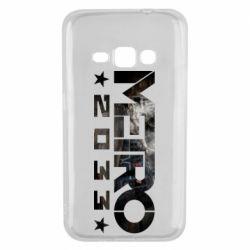 Чехол для Samsung J1 2016 Metro 2033 text