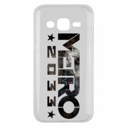 Чехол для Samsung J2 2015 Metro 2033 text