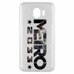 Чехол для Samsung J4 Metro 2033 text