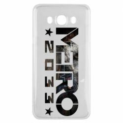 Чехол для Samsung J7 2016 Metro 2033 text