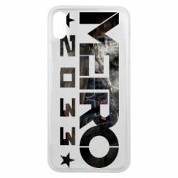 Чехол для iPhone Xs Max Metro 2033 text