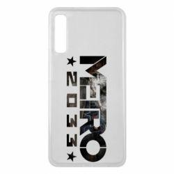 Чехол для Samsung A7 2018 Metro 2033 text