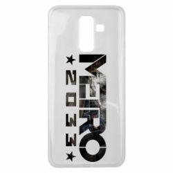 Чехол для Samsung J8 2018 Metro 2033 text