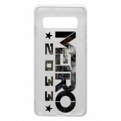 Чехол для Samsung S10 Metro 2033 text