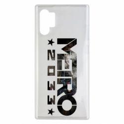 Чехол для Samsung Note 10 Plus Metro 2033 text