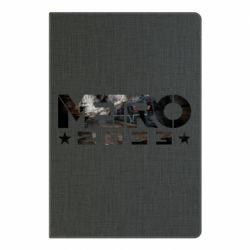 Блокнот А5 Metro 2033 text