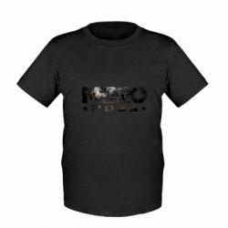 Детская футболка Metro 2033 text