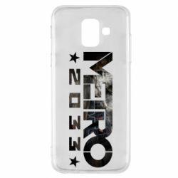 Чехол для Samsung A6 2018 Metro 2033 text