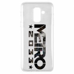 Чехол для Samsung A6+ 2018 Metro 2033 text