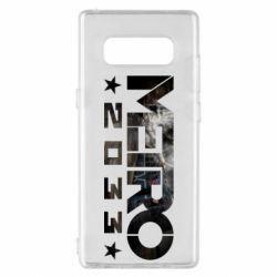 Чехол для Samsung Note 8 Metro 2033 text