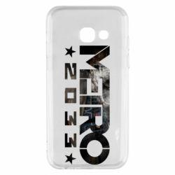 Чехол для Samsung A3 2017 Metro 2033 text