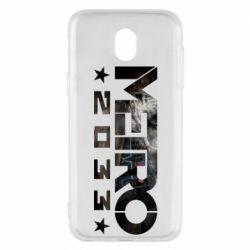Чехол для Samsung J5 2017 Metro 2033 text