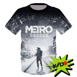 Дитяча 3D футболка Metro  Exodus - купити в Києві d9909449324c8