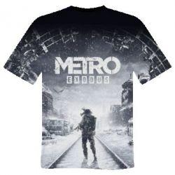 Чоловіча 3D футболка Metro: Exodus - FatLine