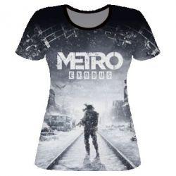 Жіноча 3D футболка Metro: Exodus - FatLine