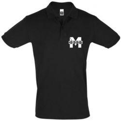 Футболка Поло Метро результат міні логотип