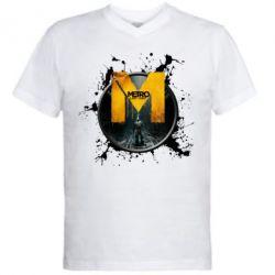 Купить Мужская футболка с V-образным вырезом ?Metro: Last Light Art, FatLine