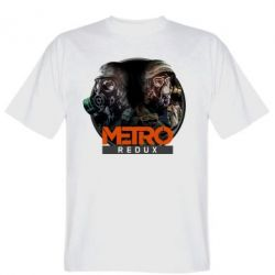 Мужская футболка Metro: Redux
