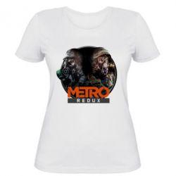 Женская футболка Metro: Redux