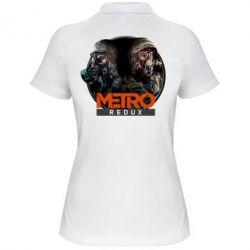Женская футболка поло Metro: Redux