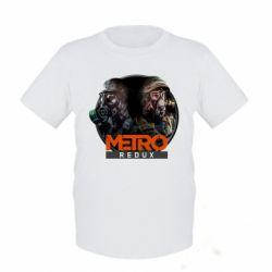 Детская футболка Metro: Redux