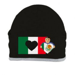 Шапка Mexican flag and president