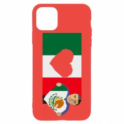 Чехол для iPhone 11 Pro Max Mexican flag and president