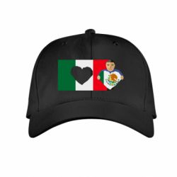 Детская кепка Mexican flag and president