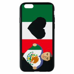Чехол для iPhone 6/6S Mexican flag and president