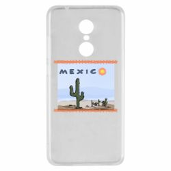 Чехол для Xiaomi Redmi 5 Mexico art