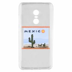 Чехол для Xiaomi Redmi Note 4 Mexico art