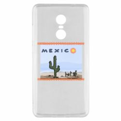 Чехол для Xiaomi Redmi Note 4x Mexico art
