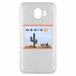 Чохол для Samsung J4 Mexico art
