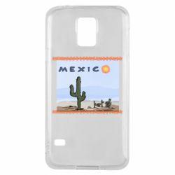 Чохол для Samsung S5 Mexico art