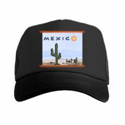 Кепка-тракер Mexico art