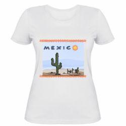 Жіноча футболка Mexico art