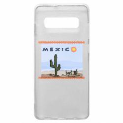 Чохол для Samsung S10+ Mexico art