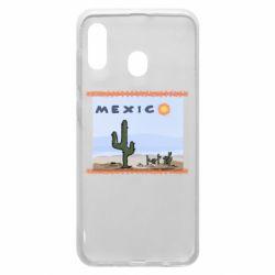 Чохол для Samsung A20 Mexico art