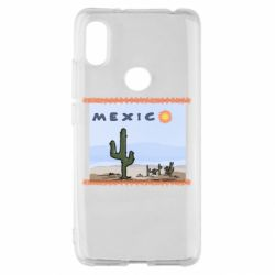 Чехол для Xiaomi Redmi S2 Mexico art