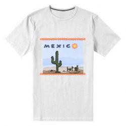 Чоловіча стрейчева футболка Mexico art