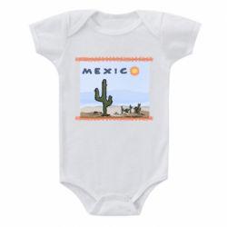 Дитячий бодік Mexico art
