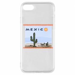 Чохол для iPhone 7 Mexico art