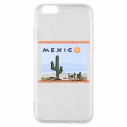 Чохол для iPhone 6/6S Mexico art